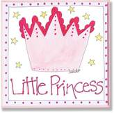 Stupell Industries The Kids Room Little Princess with Big Crown Square Wall Plaque
