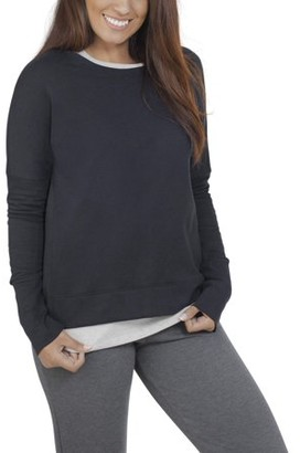Fruit of the Loom Women?s Athleisure Essentials French Terry Sweatshirt