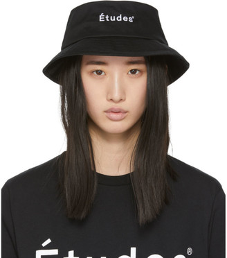 Études Black Training Bucket Hat