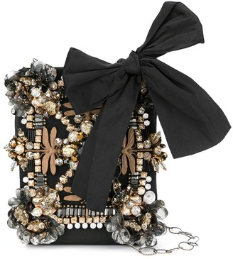 Biyan Crystal Embellished Clutch
