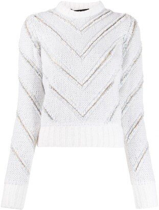 Y/Project Panelled Knit Jumper