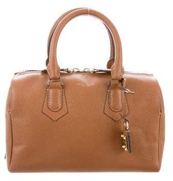 Henri Bendel Pebbled Leather Satchel