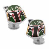 Star Wars STARWARS Boba Fett Distressed Helmet Cuff Links