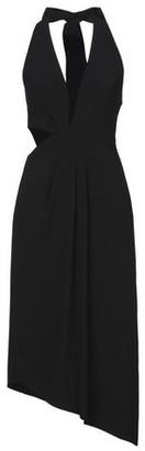 Halston 3/4 length dress