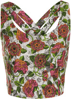Topshop Floral Print Suntop