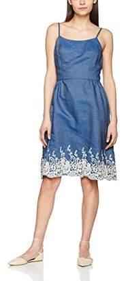 Yumi Women's Embroidered Hem Dress