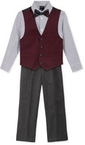 Nautica Little Boys' 3-Pc. Twill Vest, Shirt & Pants Set