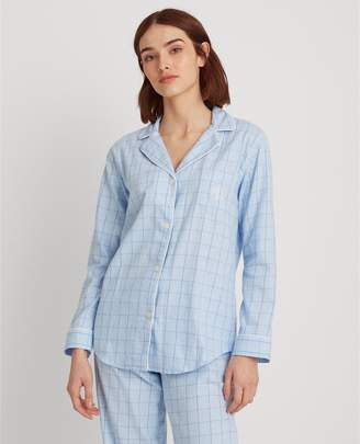 Ralph Lauren Plaid Cotton Twill Sleep Set