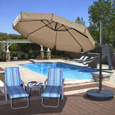 Island Umbrella 11' Freeport Cantilever Umbrella
