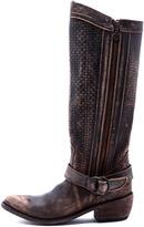 Liberty Black Vintage Distressed Boot