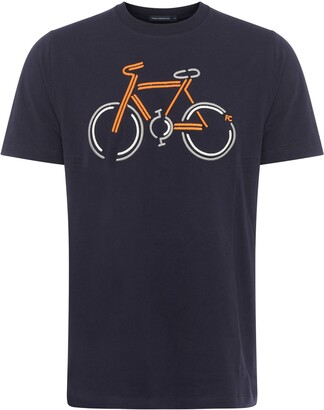 French Connection Bicycle Graphic Tee