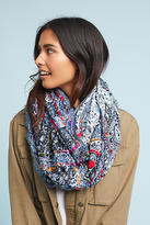 Anthropologie Blanket-Stitched Infinity Scarf