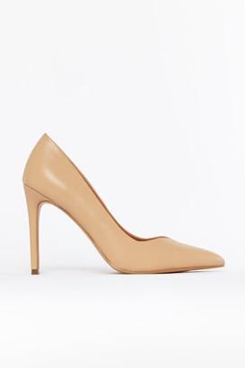 Wallis **Nude Point High Heel Shoe