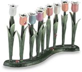 Bed Bath & Beyond Quest Collection Pastel Tulip Menorah
