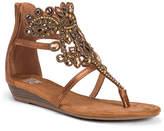 Muk Luks Athena Womens Flat Sandals
