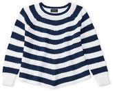 Ralph Lauren 7-16 Striped Cotton Swing Sweater