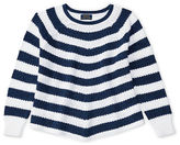 Ralph Lauren Striped Cotton Swing Sweater