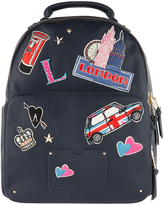 Accessorize London Patch Backpack
