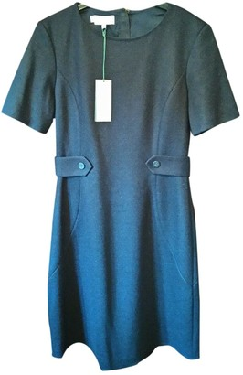 Hobbs Navy Wool Dress for Women