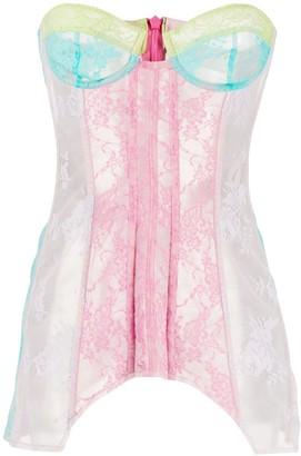 Natasha Zinko Lace Mini Dress