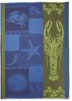 Sur La Table Lobster Jacquard Kitchen Towel