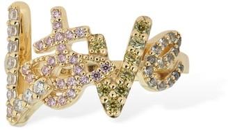 Vivienne Westwood Wilma Love Multicolor Crystal Ring