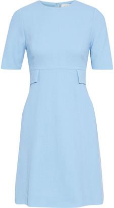 Goat Geranium Wool-crepe Mini Dress
