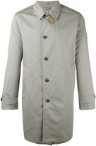 Closed classic single-breasted coat - men - Cotton/Polyurethane/Viscose - S