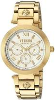 Versus By Versace Women's 'CAMDEN MARKET' Quartz Stainless Steel and Plated Casual Watch(Model: SCA030016)