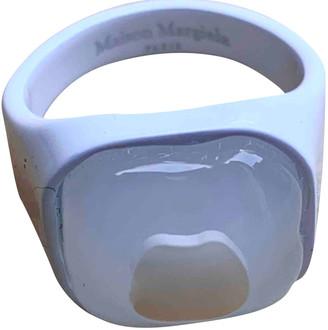Maison Margiela White Metal Jewellery