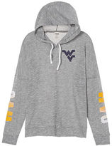 PINK West Virginia University Crossover Pullover Hoodie