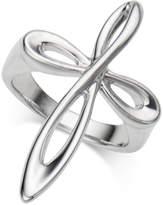 Nambe Nambandeacute; Infinity Cross Ring in Sterling Silver