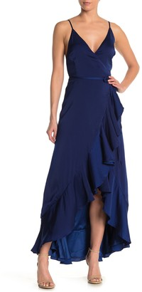 Yumi Kim Cross Roads Wrap Maxi Dress