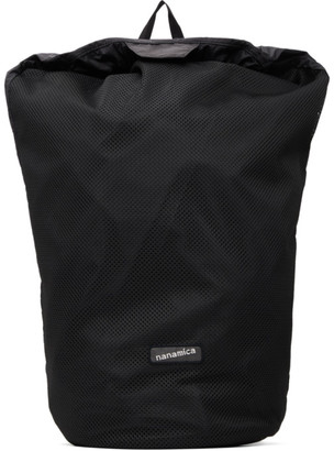 Nanamica Black Mesh Packable Day Backpack