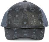 MCM logo print cap - women - Polyester/PVC - One Size