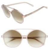 Raen Women's Torrey 58Mm Aviator Sunglasses - Flesh