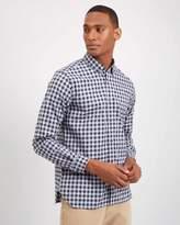 Casual Large Gingham Shirt