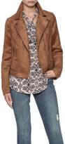 BB Dakota Asymmetrical Suede Jacket