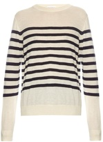 Raey Breton-stripe fine-knit cashmere sweater