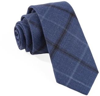 Tie Bar Barberis Wool Sera Blue Tie