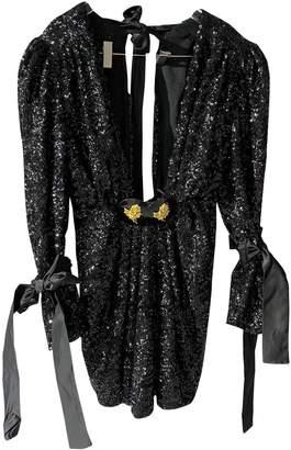 DANIELE CARLOTTA Black Glitter Dress for Women