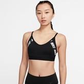 Nike Women's Indy Light-Support Logo Sports Bra