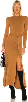 Nicholas Mock Neck Long Sleeve Dress
