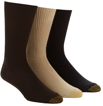 Gold Toe Fluffies Crew Socks 3-Pack