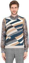 Salvatore Ferragamo Shetland & Cashmere Intarsia Vest