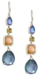 Ippolita Rock Candy Sterling Silver& Multi-Stone Drop Earrings