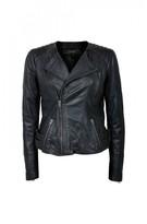 DECJUBA Leather Biker Jacket