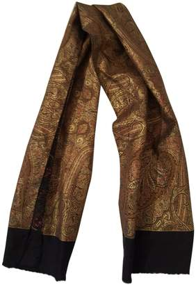 Lanvin Gold Silk Scarves