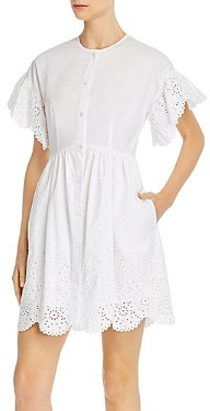 Rebecca Taylor La Vie Cotton Eyelet Dress