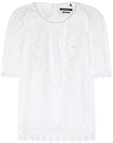 Isabel Marant Araza embroidered top